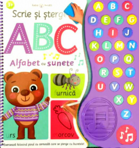 Scrie si sterge. ABC Alfabet cu sunete