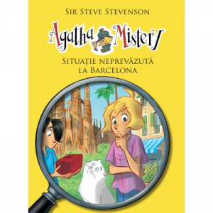 Agatha Mistery: Situatie neprevazuta la Barcelona (VOL. 8)