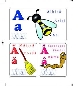 Alfabetul - cartonat