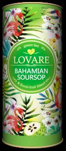 Bahamian soursop Amestec de ceai verde, soursop (graviola) si petale de flori