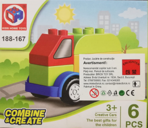 Combine and Create set lego camion