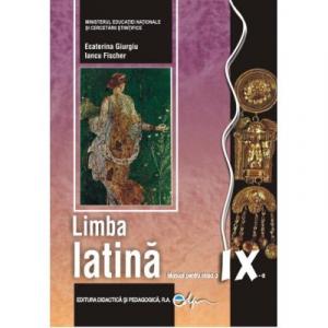 Limba latina, manual pentru clasa a IX-a