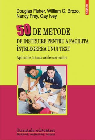 50 de metode de instruire pentru a facilita intelegerea unui text