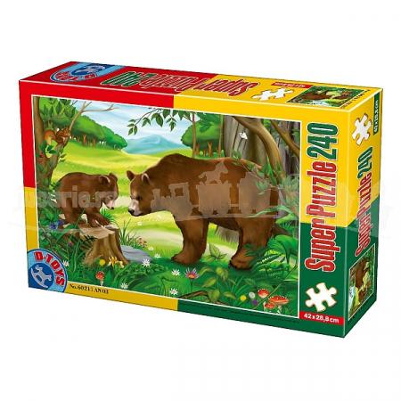 Super Puzzle Ursi 240 Piese #60211