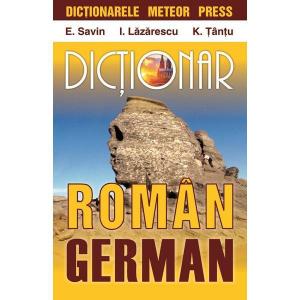 DICTIONAR ROMAN-GERMAN (METEOR PRESS)0