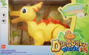Dinosaur World. Dinozaur Eden cu proiector de imagine, sunet si lumina