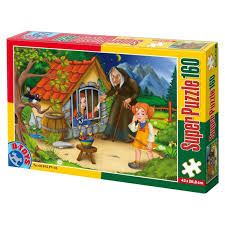 Super Puzzle Hansel si Gretel 160 Piese #60495