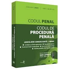 Codul penal si codul de procedura penala: ianuarie 2021