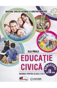 Educatie civica. Manual pentru clasa a III-a, partea I + partea a II-a (contine editie digitala)1