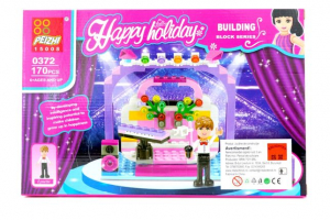 Peizhi Happy Holiday Building Block 170 piese