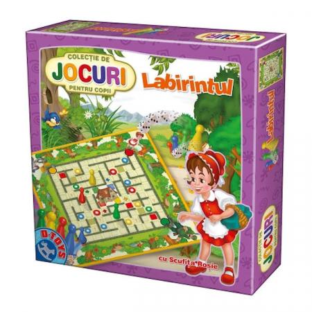 Colectia de Jocuri pentru copii: Labirintul #60075