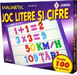 Joc Litere si Cifre Magnetic #JD-16