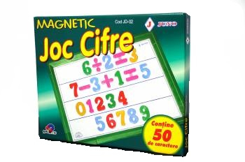 Joc Cifre Magnetic #JD-02