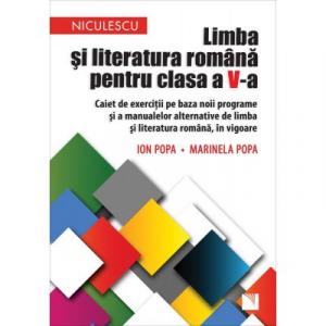 Limba si literatura romana pentru clasa a V-a. Caiet de exercitii