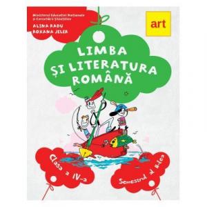 Limba si literatura romana. Manual pentru clasa a IV-a. Semestrul al II-lea