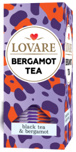 BERGAMOT TEA - Black tea and bergamot