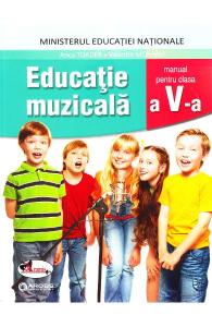 Educatie muzicala, manual clasa a V-a