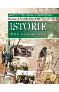 Istorie. Manual pentru clasa a IV-a, partea I + partea a II-a de Cleopatra Mihailescu, Tudora Pitila [1]