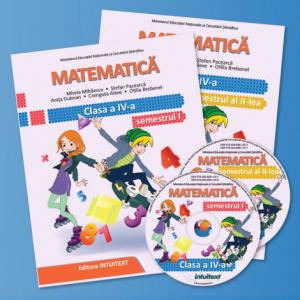 Matematica - Manual pentru clasa a IV‑a-set