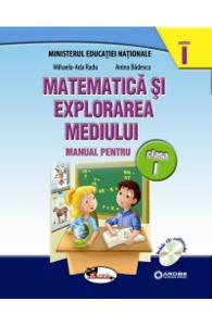 Matematica si explorarea mediului clasa 1 partea I+partea II - set