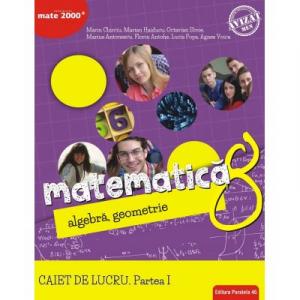 Matematica. Algebra, geometrie. Caiet de lucru. Clasa a 8-a. Consolidare. Partea I