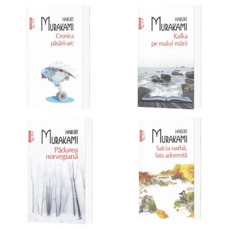 Pachet Autor Haruki Murakami - 4 TITLURI (Top 10+)