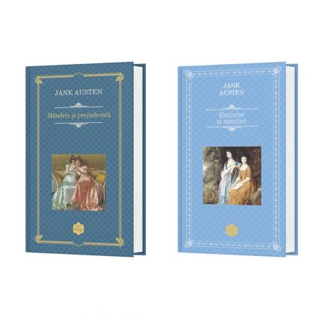 Pachet Autor Jane Austen - 2 Titluri