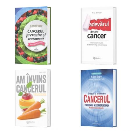 Pachet Invingerea Cancerului - 4 TITLURI
