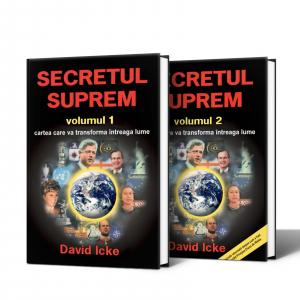 Pachet Special David Icke SECRETUL SUPREM VOL.1 SI 2