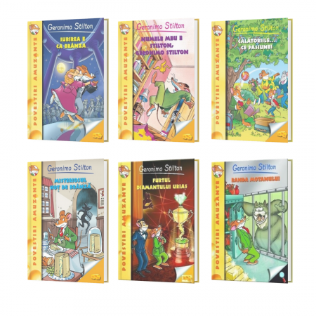 Pachet Special Geronimo Stilton Vol. 1-6