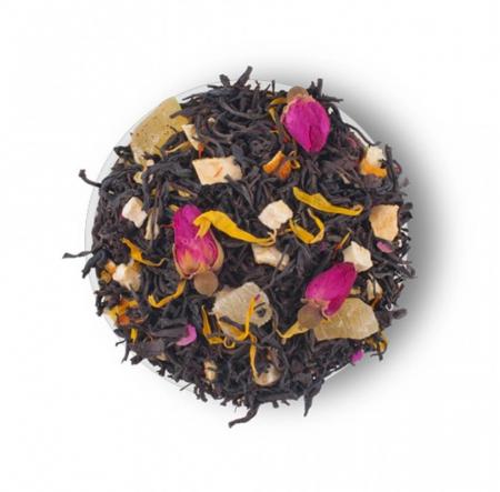 Passion Fruit  Amestec de ceai negru, plante si fructe de la Lovare [1]