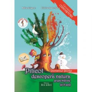 Piticot descopera natura 4-5 ani. Domeniul: Stiinte