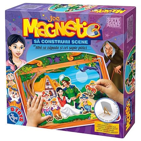 Joc magnetic Sa construim scene Alba ca Zapada #63663
