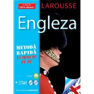 Curs de limba Engleza (carte+2CD). Metoda rapida.