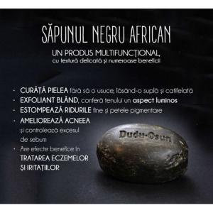 Sapun negru african Pure fara parfum 25g2
