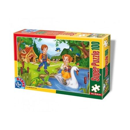 Super Puzzle Hansel si Gretel 100 Piese #60402 PV 04