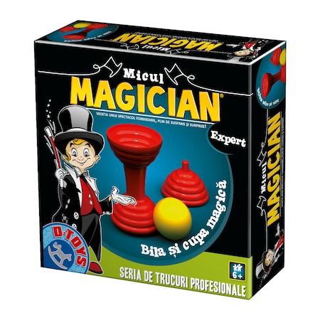 Micul magician. Bila si cupa magica #71453