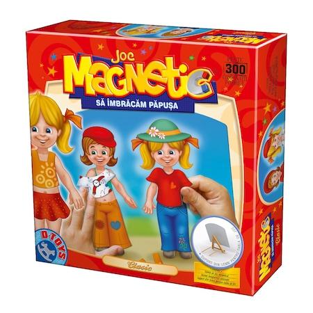 Joc magnetic Sa imbracam Papusa Clasic #60662