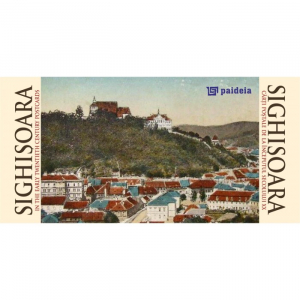 Sighisoara in carti postale de la inceputul sec. XX, ro-engl landscape
