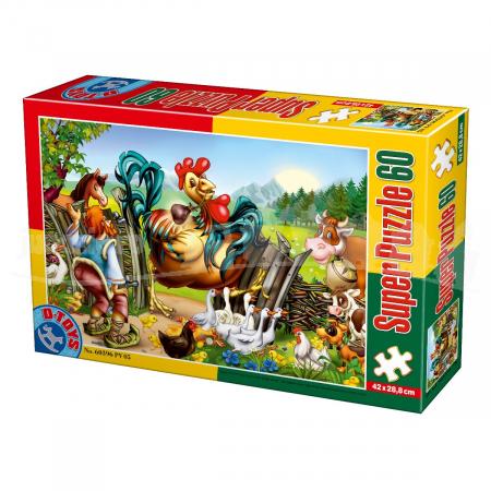 Super Puzzle Pasari 60 Piese #60396