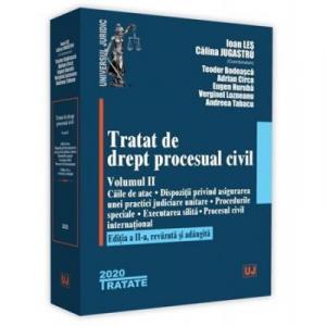 Tratat de drept procesual civil. Volumul II. Editia a 2-a