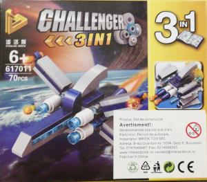 Challenger 3 in 1 set lego nava spatiala
