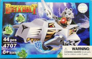 Brixbolt: Wolf. Set lego luptatori galactici