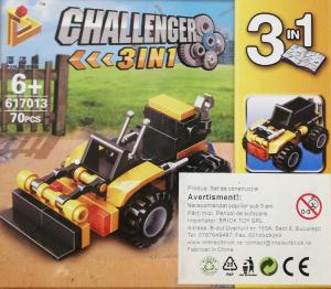 Challenger 3 in 1 set lego excavator