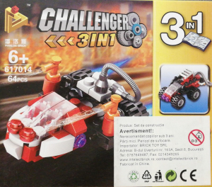 Challenger 3 in 1 set lego barca