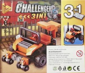 Challenger 3 in 1 set lego masina off road