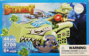 Brixbolt: Crocodile. Set lego luptatori galactici