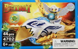 Brixbolt: Hawk. Set lego luptatori galactici