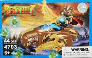 Brixbolt: Bear. Set lego luptatori galactici