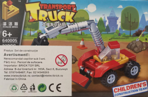 Transport Truck set lego excavator